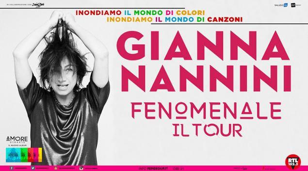 Gianna Nannini tour 2018