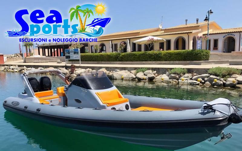 Sea Sports noleggio nautico a Tropea e Capo Vaticano