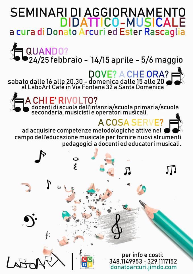 Seminari di aggiornamento didattico-musicale di Laboart