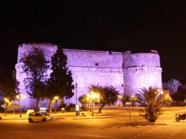 Castello Aragonese di Reggio Calabria illuminato di notte