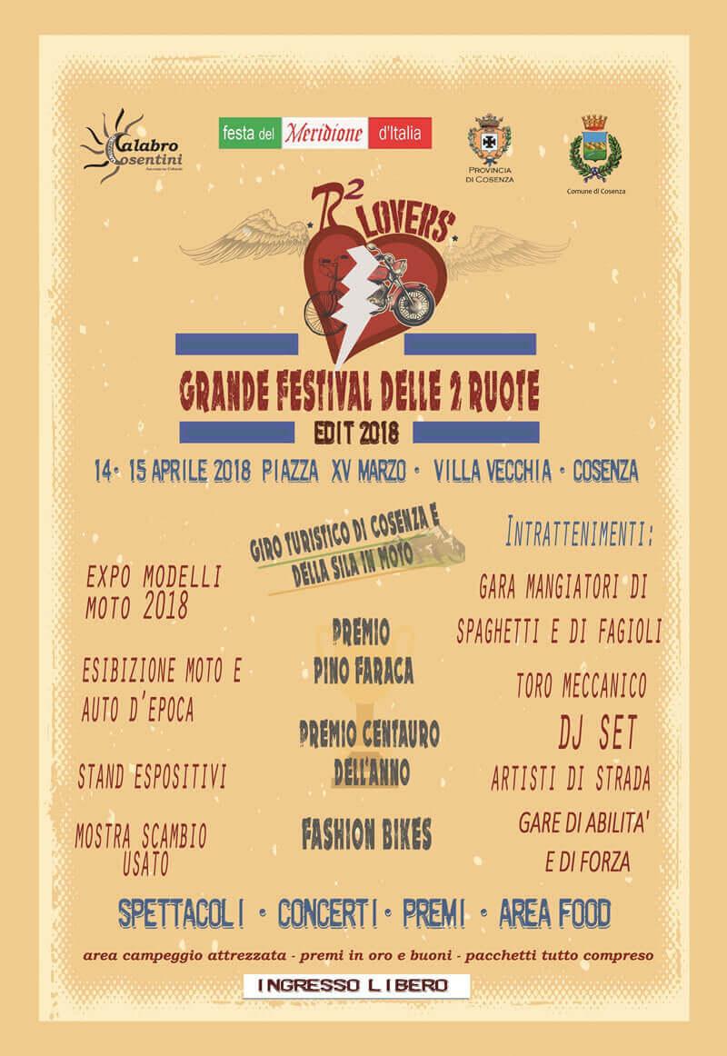 GRANDE FESTIVAL DELLE DUE RUOTE 2018