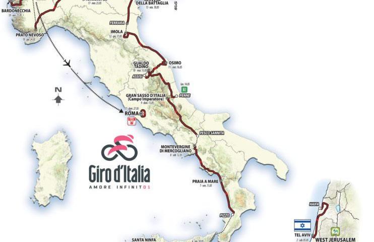 Giro d'Italia 2018 Pizzo - Praia a Mare