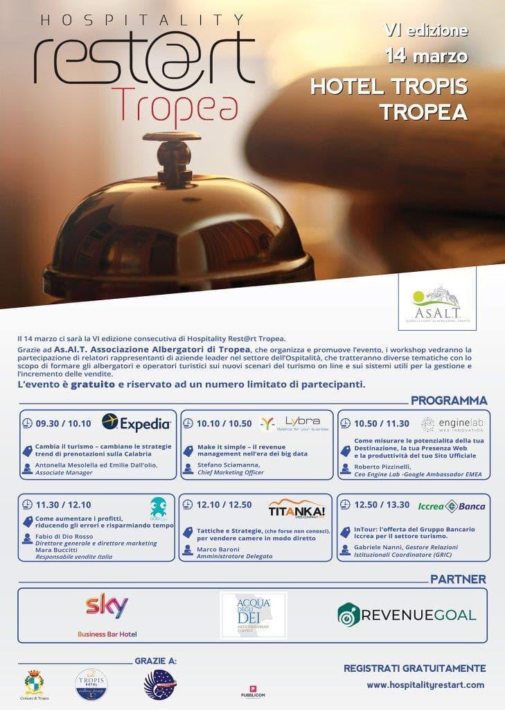 Hospitality Rest@rt Tropea 14 marzo 2019