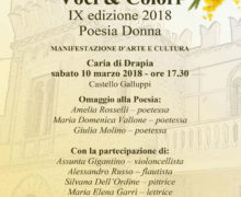 Voci & Colori – Poesia Donna 2018 locandina