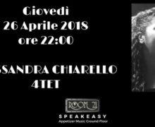 Alessandra Chiarello 4tet al Jazz Club Room 21 di Soverato