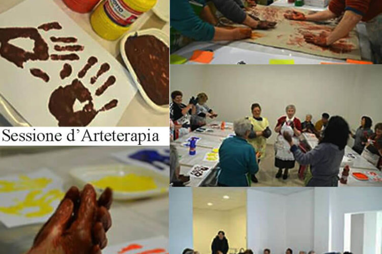 Arteterapia per anziani di Assoagry