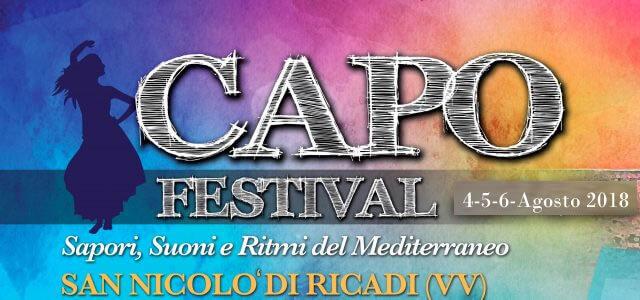 Capo Festival 2018 a San Nicoò di Ricadi