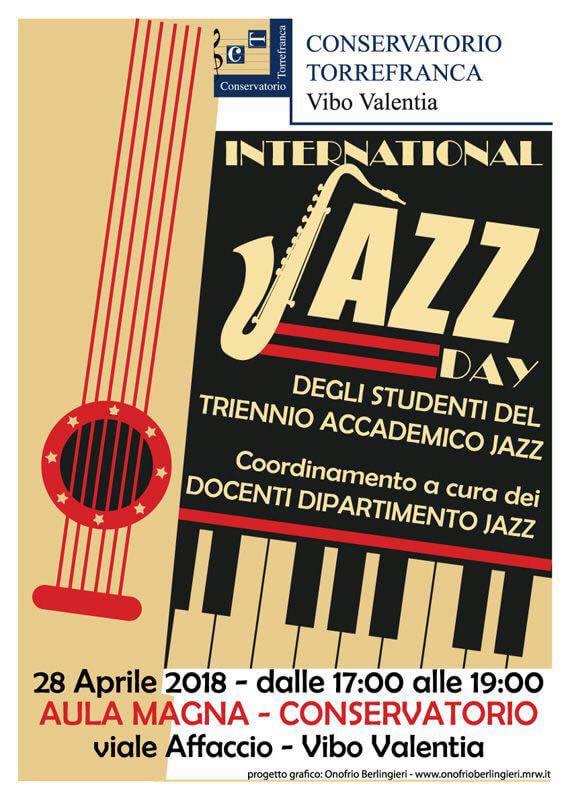 International Jazz Day 2018 a Vibo Valentia