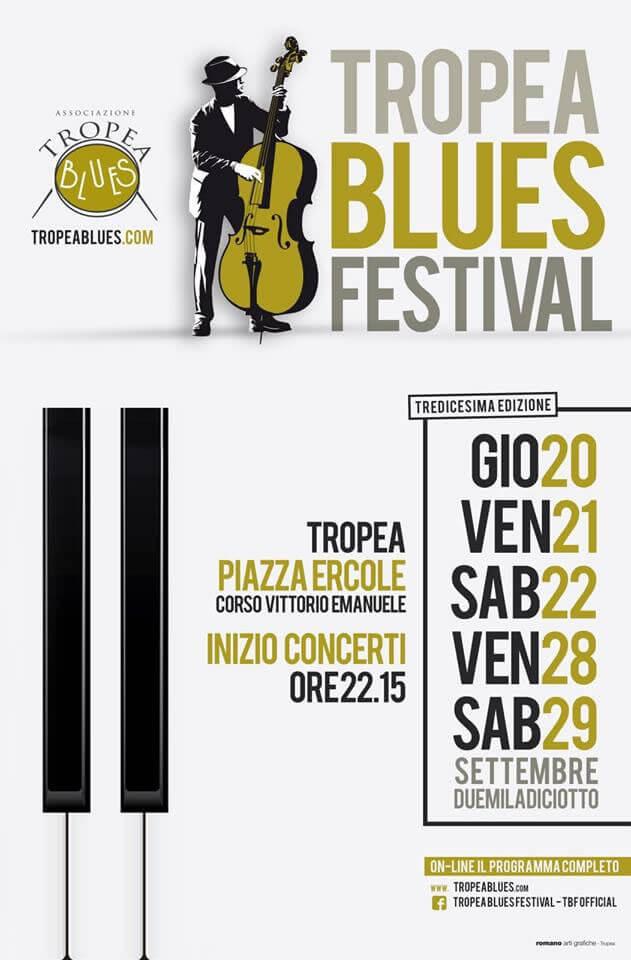 Tropea Blues Festival 2018 locandina