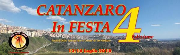 Catanzaro in Festa - Festival Dello Spettacolo 4a Edizione 2018