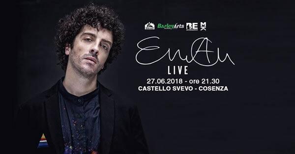 Eman live a Cosenza 27 giugno 2018