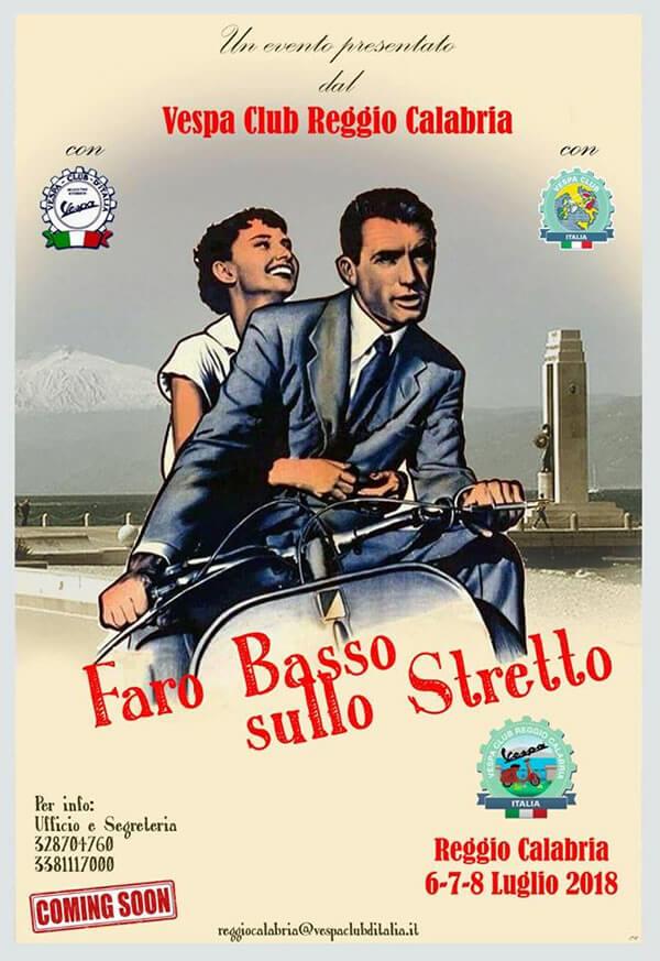FARO BASSO SULLO STRETTO 6 luglio 2018 a Reggio Calabria locandina