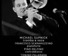 LOCANDINA MICHAEL SUPNICK 4TET 1 luglio 2018 Jazz Club Room 21 di Soverato