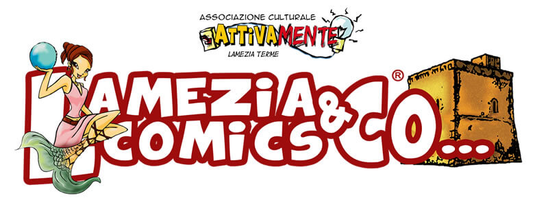 Logo Lamezia Comics & Co...