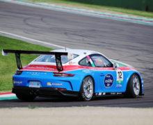Simone Iaquinta Le Castellet in Carrera Cup Italia