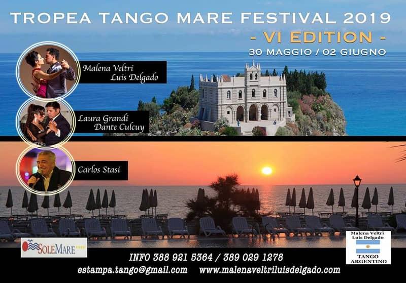 Tropea TANGO MARE Festival 2019 - VI Edition 30 maggio - 2 giugno 2019