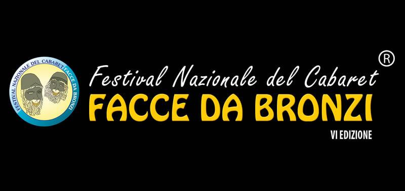 Festival Nazionale del cabaret Facce da bronzi VI edizione cover