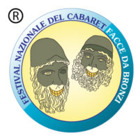 Festival Nazionale del cabaret Facce da bronzi logo