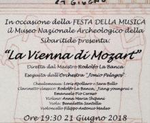 La Vienna di Mozart per celebrare il solstizio d'estate 21 giugno 2018 a Cassano allo Ionio locandina