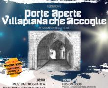 Porte Aperte Villapiana che accoglie 26 giugno 2018 a Villapiana locandina