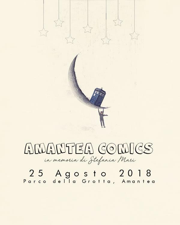 Amantea Comics 25 agosto 2018 ad Amantea locandina