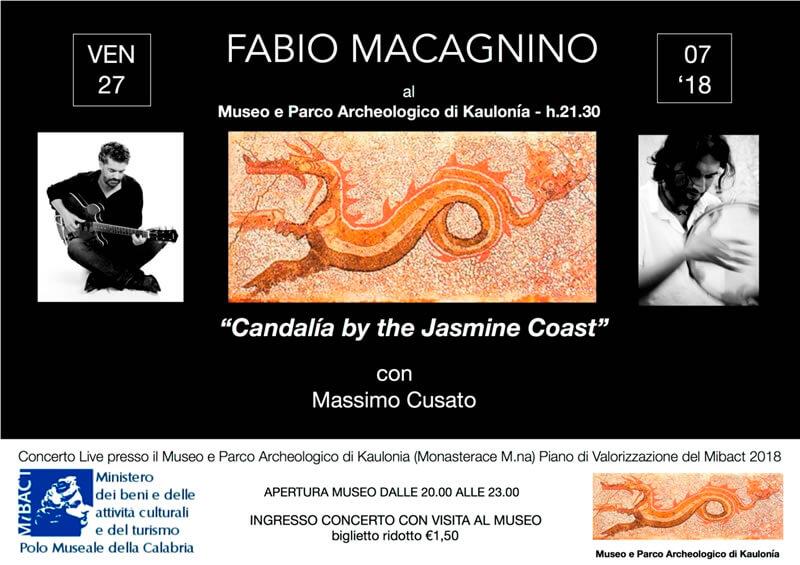 Candalìa by the Jasmine Coast Museo Archeologico dell'antica Kaulon Monasterace27 luglio 2018