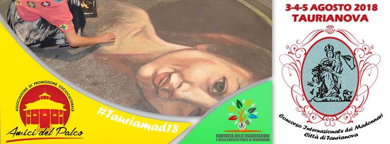 Concorso Internazionale dei Madonnari di Taurianova 3 - 4 - 5 agosto 2018