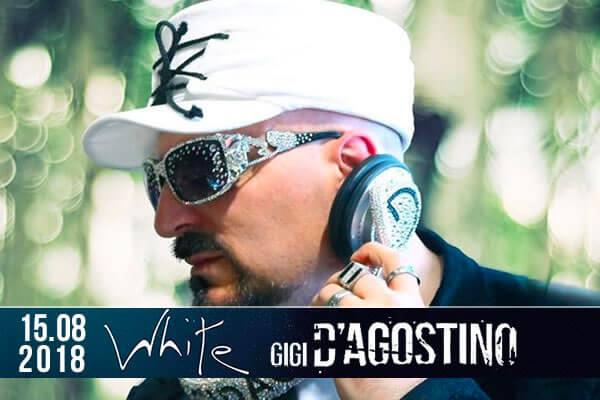 Gigi D'Agostino - il 15 agosto al White Different Club di Corigliano Rossano