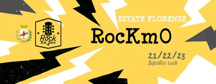 Rock chilometro zero 21 - 22 - 23 agosto 2018 San Giovanni in Fiore