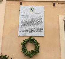 Epigrafe celebrativa liberazione di Tropea 1615