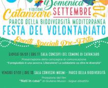 Festa del volontariato a Catanzaro 6 9 settembre 2018 locandina