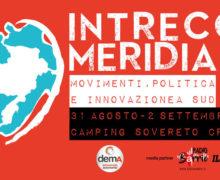 Festival Intrecci Meridiani dal 31 agosto al 2 settembre 2018 a Isola Capo Rizzuto locandina