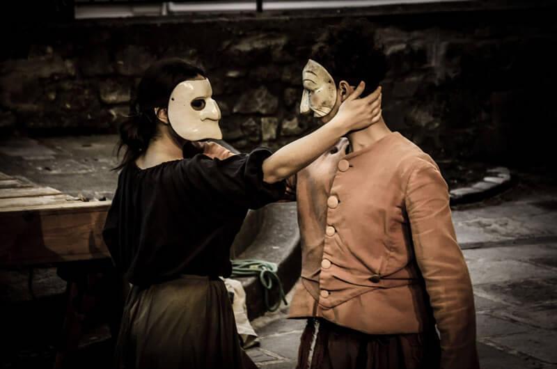 Laboratorio di commedia dell'arte con Tommaso Setaro