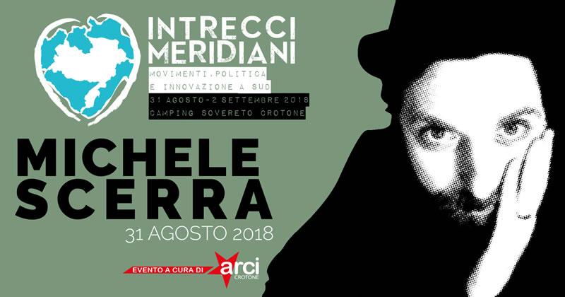 Michele Scerra al Festival Intrecci Meridiani 31 agosto 2018 a Isola Capo Rizzuto