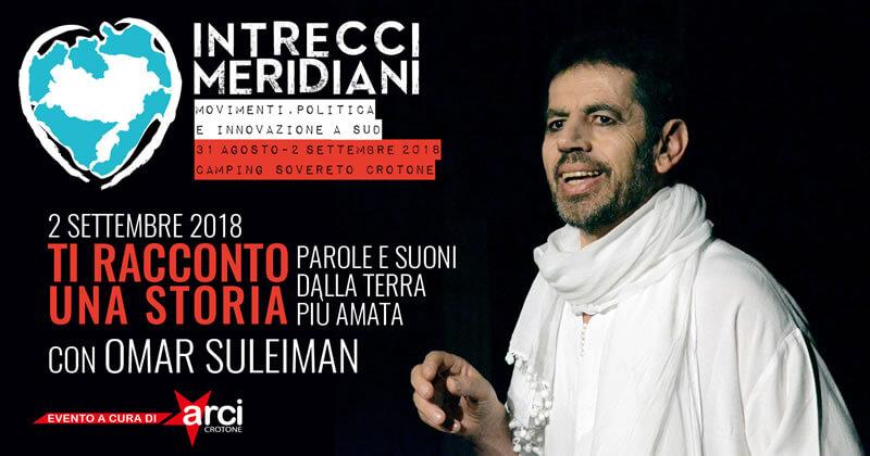 Ti racconto una storia al Festival Intrecci Meridiani 2 settembre 2018 a Isola Capo Rizzuto