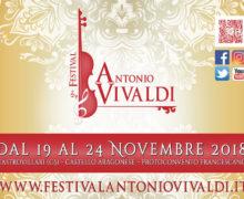 Festival Antonio Vivaldi dal 19 al 24 novembre 2018 a Castrovillari