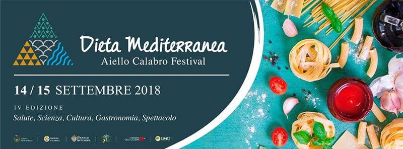Festival della Dieta Mediterranea ad Aiello Calabro 14 e 15 settembre 2018