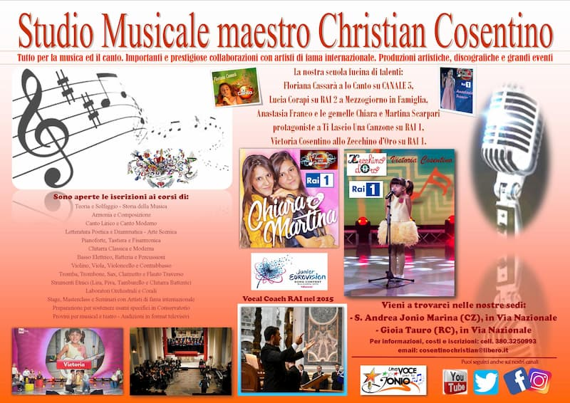 Music School di Christian Cosentino 2019