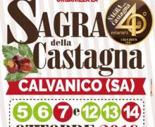 Sagra della Castagna a Calvanico ottobre 2018 locandina
