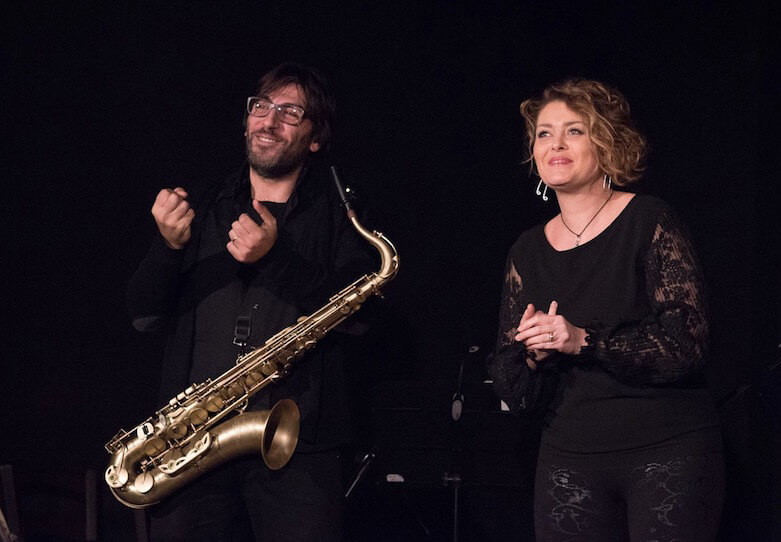 Alberto la Neve e Fabiana Dota al The Jazz di Catanzaro