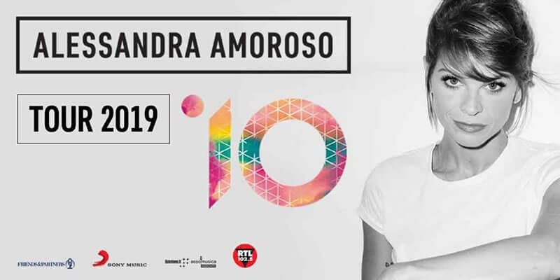 Alessandra Amoroso Tour 2019