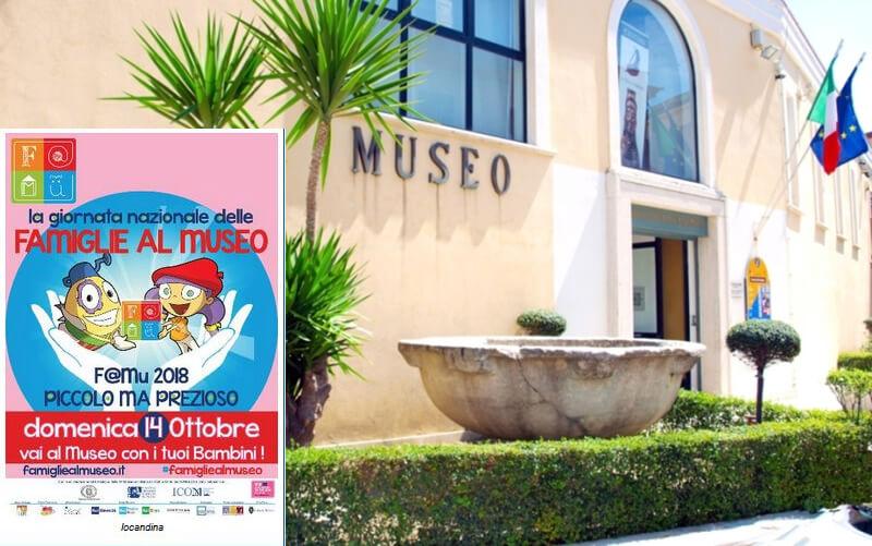 Giornata Nazionale delle Famiglie al Museo 14 ottobre 2018 Crotone