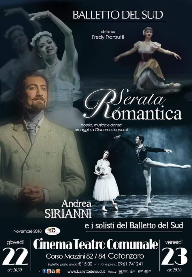 Serata Romantica 22 - 23 novembre 2018 Catanzaro
