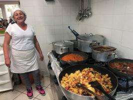 Taverna Briganti a Crotonei piatto e chef