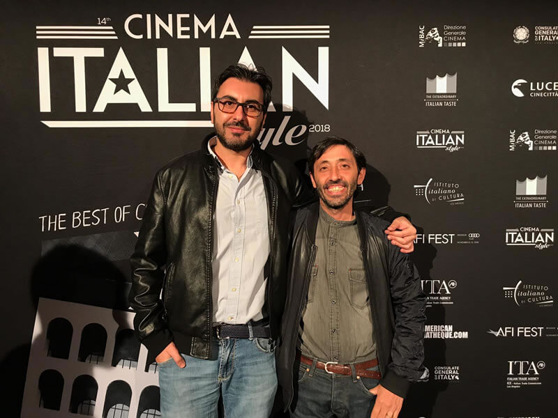 Alessandro Grande e Marcello Fonte dalla Calabria a Hollywood