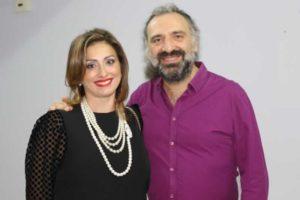 Antonietta Santacroce e Stefano Bollani