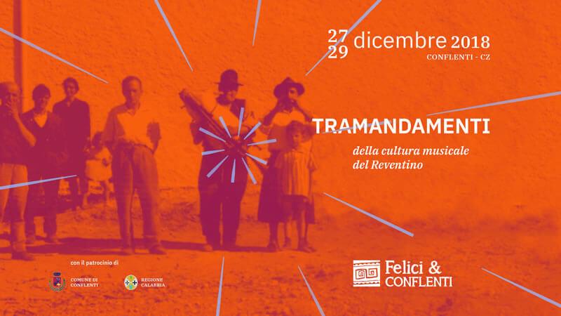 Felici & Conflenti 27 - 28 - 29 dicembre 2018 a Conflenti locandina