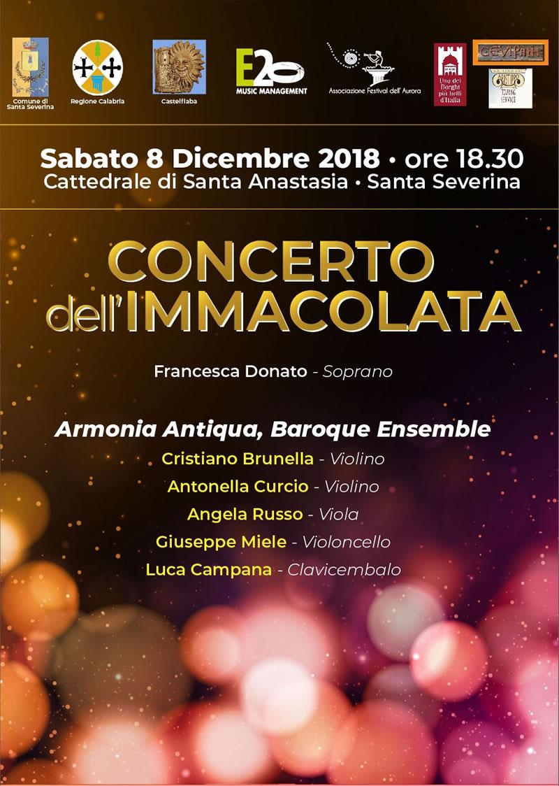 Locandina concerto Armonia Antiqua
