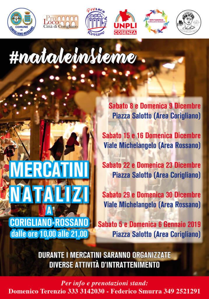 Mercatini Natalizi 2018-2019 a Corigliano-Rossano