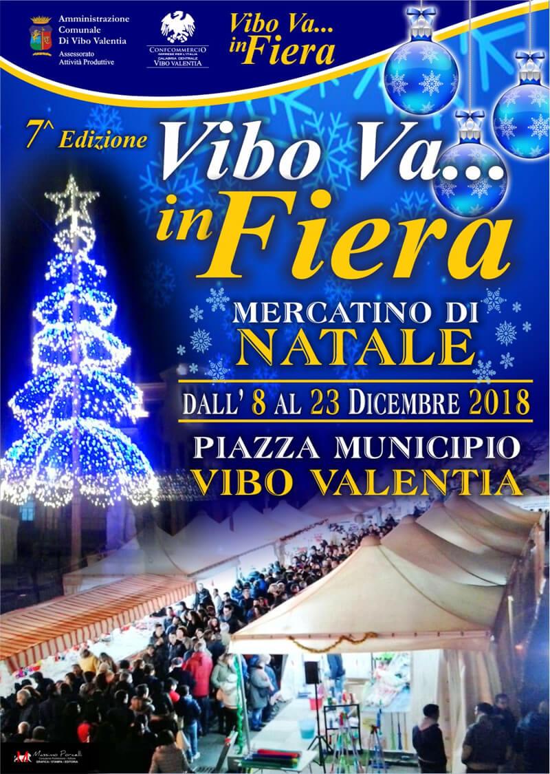 Mercatino di Natale dall 8 al 23 dicembre 2018 a Vibo Valentia